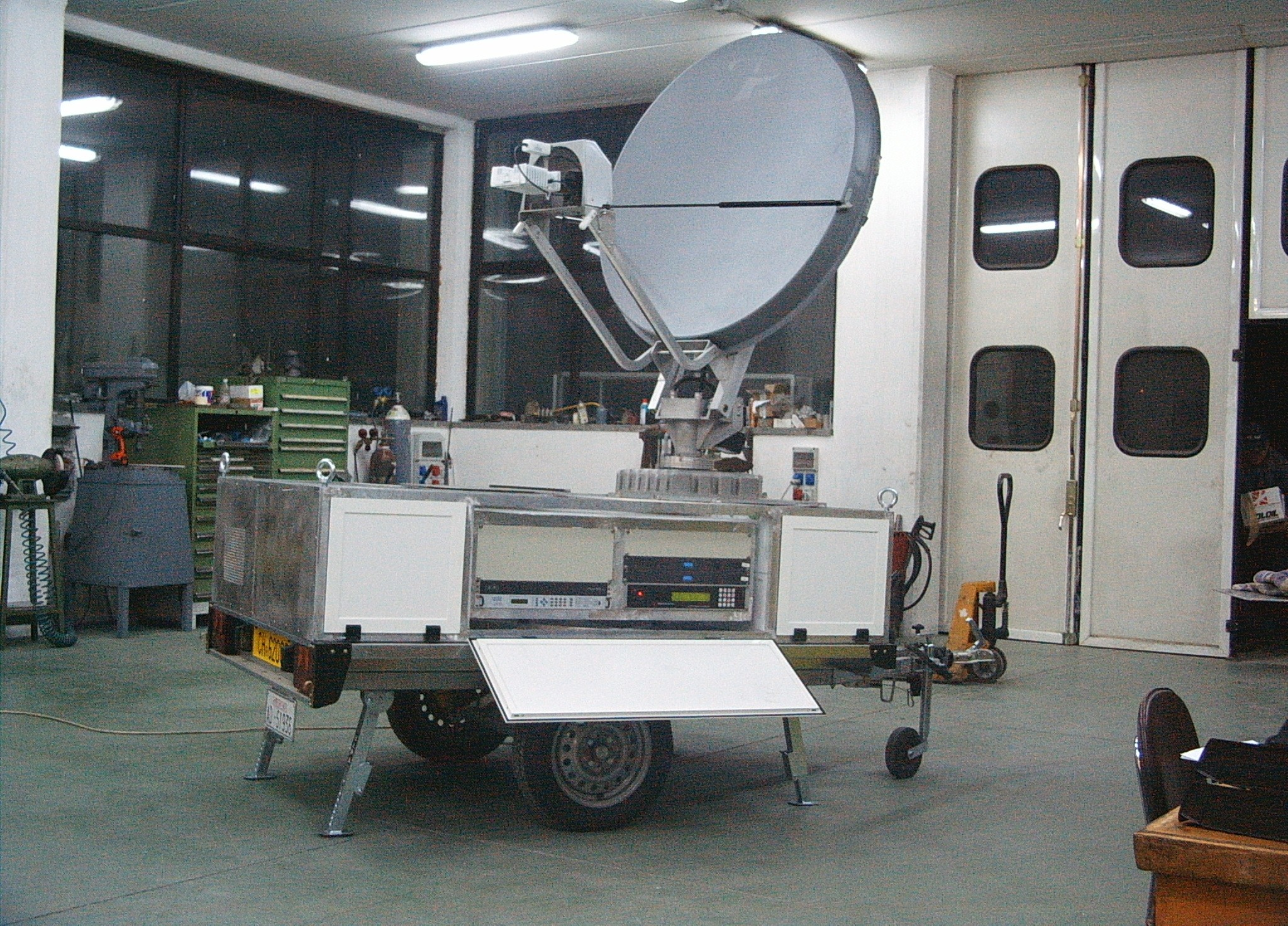 Carrello satellitare MOBSAT